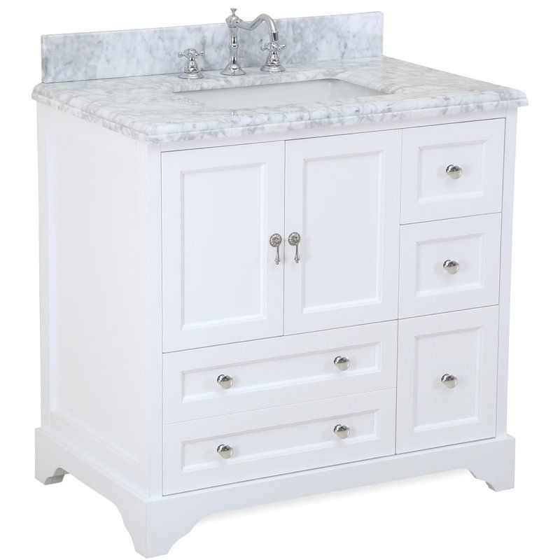 Kbc Madison 36 Single Bathroom Vanity Set Reviews Wayfair Single Bathroom Vanity 36 Inch Bathroom Vanity Bathroom Vanity Cabinets