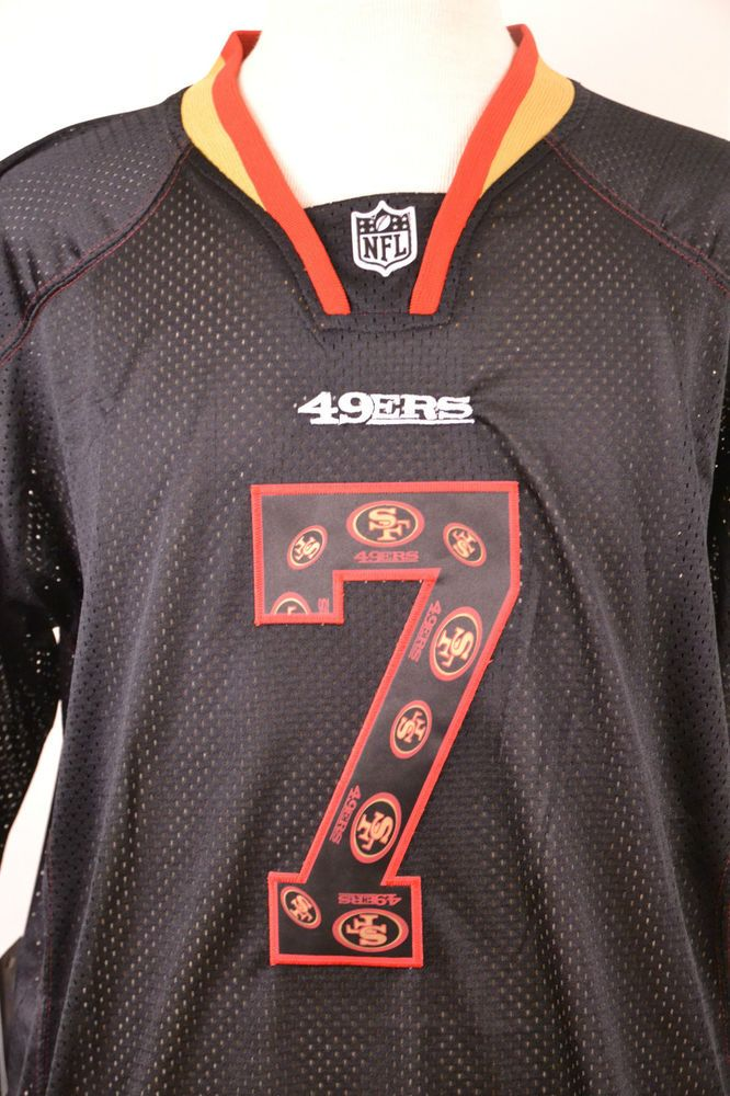 big sale ff357 78c37 NFL San Francisco 49ers #7 Kaepernick Black Limited NWT ...