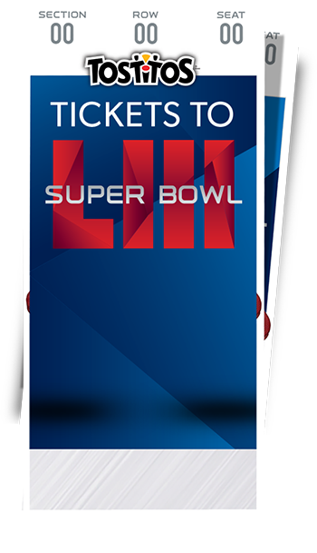 d0c158bb29d Tostitos Match Up Sweepstakes - Enter To Win Super Bowl LIII Tickets