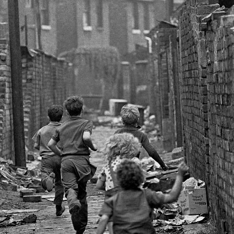 From 1969 to 1972, photographer Nick Hedges took pictures of life in Manchester, England...