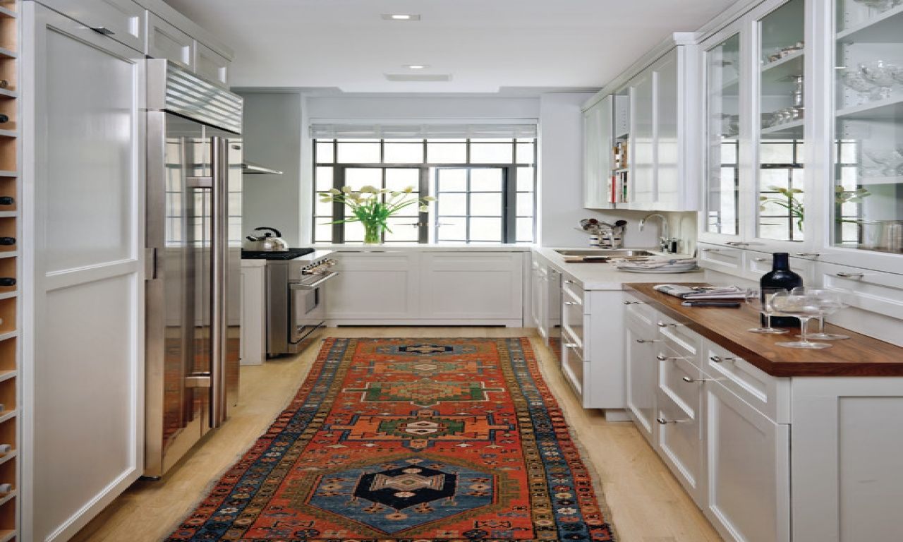Kitchen Runner Rug Oriental Style In Modern Kitchen  Kitchen Glamorous Kitchen Runner Rugs Decorating Design