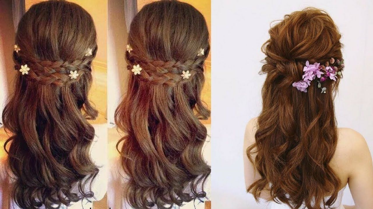 simple and easy beautiful hairstyle for long hair