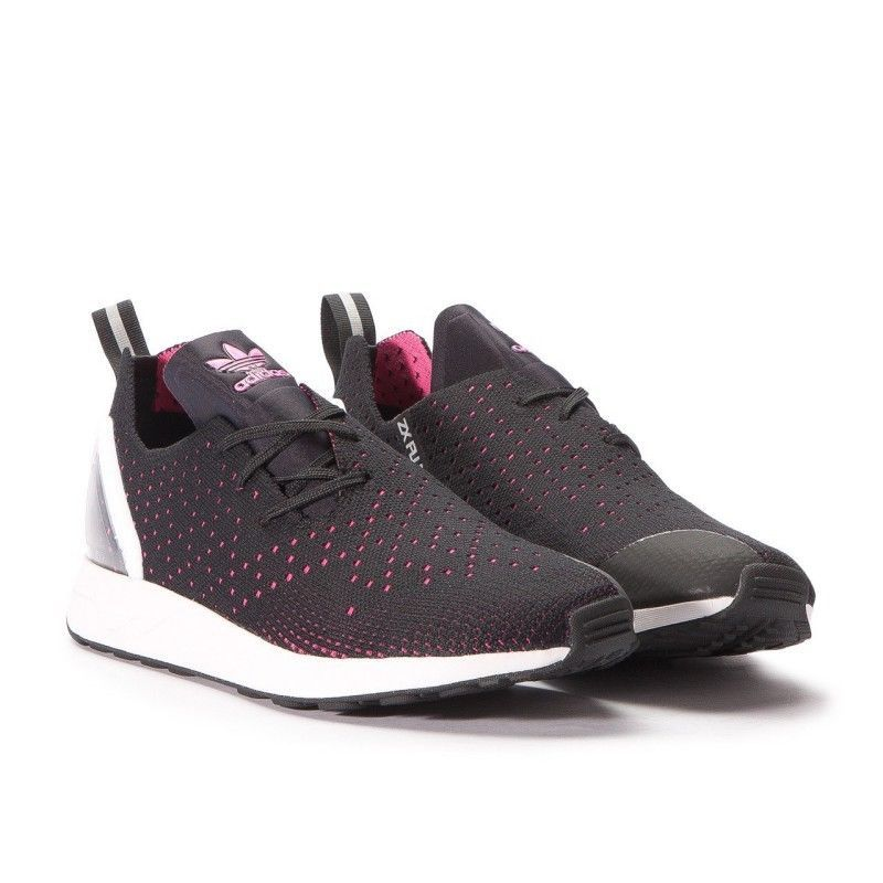 huge discount a1596 da2b2 adidas ZX Flux ADV Trainers - Black and Pink UK 7.5 #adidas ...