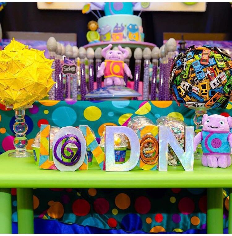Home Party Ideas boov party theme home dreamworks | boov birthday | pinterest