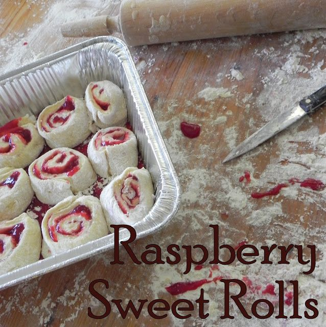 Gift of Simplicity: Raspberry  Sweet Rolls    ::::    Making these for Mother's Day!