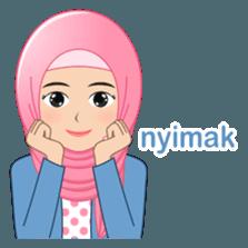 Latest Funny Emoji  I LOVE HIJAB (Indo) - Stiker LINE | LINE STORE