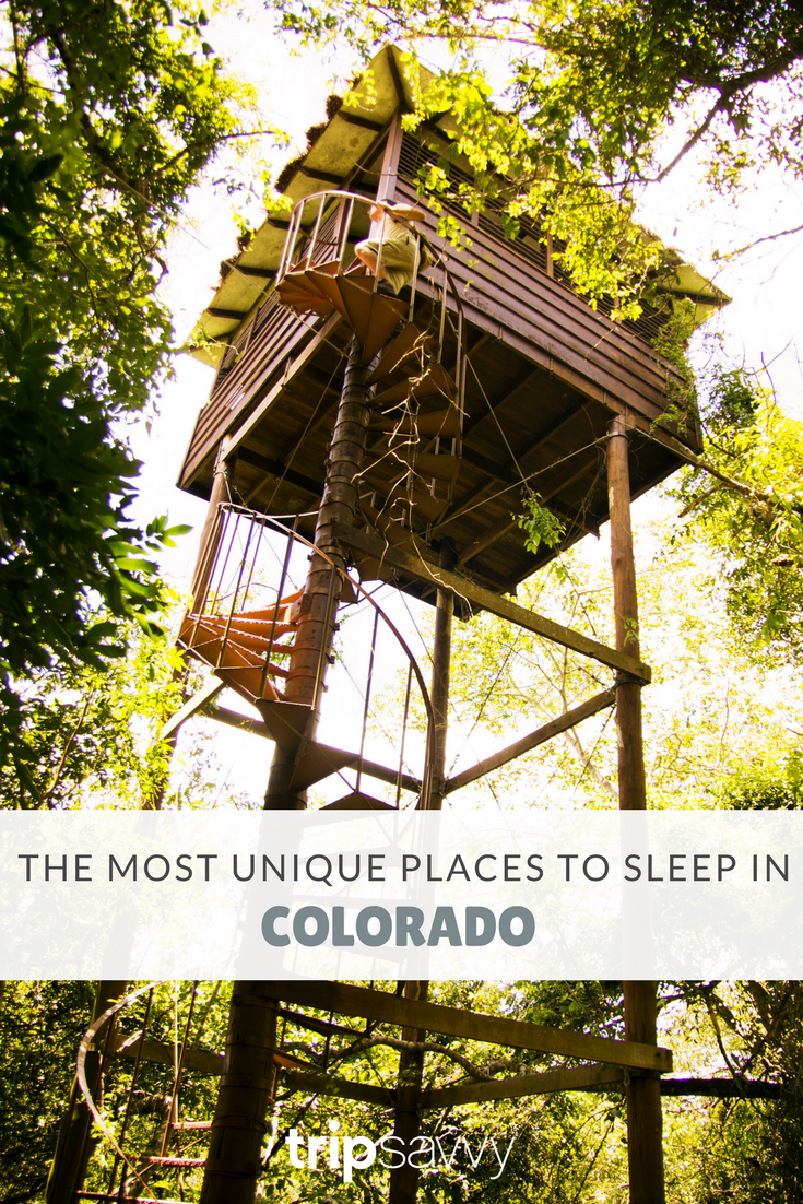 The Weirdest (and Coolest!) Places to Sleep in Colorado