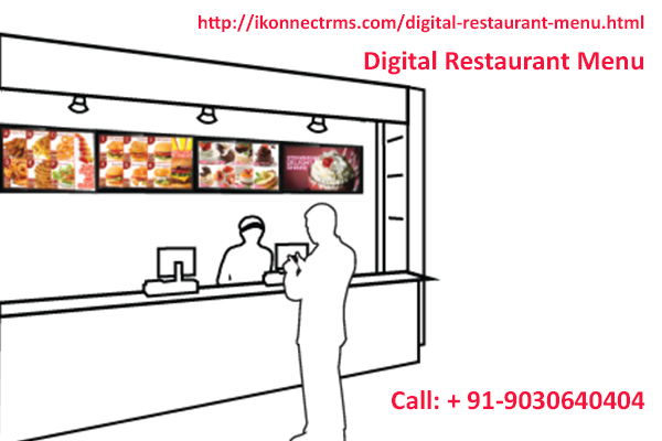 restaurant menu software by ikonnect is designed specifically for