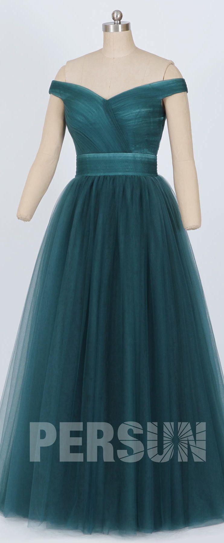 706d1e10b2 Robe de cérémonie rubis princesse élégante épaule dénudée | robe de ...