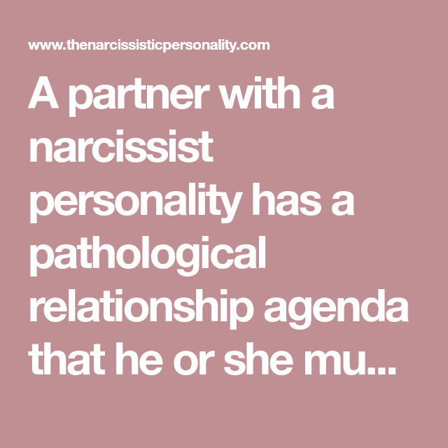 How have fulfilling relationship narcissist