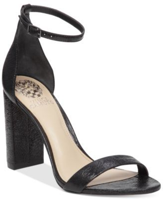 Vince Camuto Mairana High-Heel Strappy Sandals | macys.com