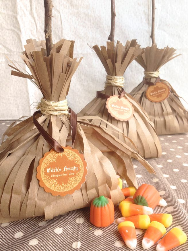 Witch\u0027s Bounty Treat Bags from My Own Ideas Blog #halloween #diy - halloween treat bag ideas