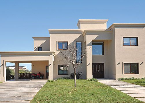 Estudio farina vazzano casa 6 construcci n casas - Casas arquitectura moderna ...