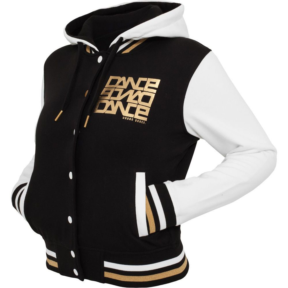 7382aa75 Urban Dance - COLLEGE JACKET black / white / gold in 2019 | Epic Outfits