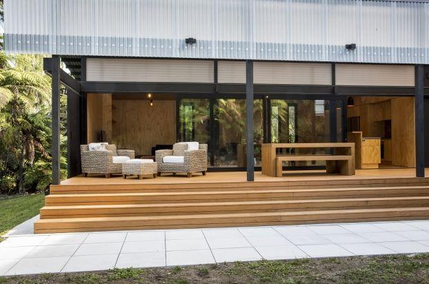 Tarawera Cabin by Darryl Church Architecture. #houseoftheyearaward #WANawards #NewZealand #architecture #bach
