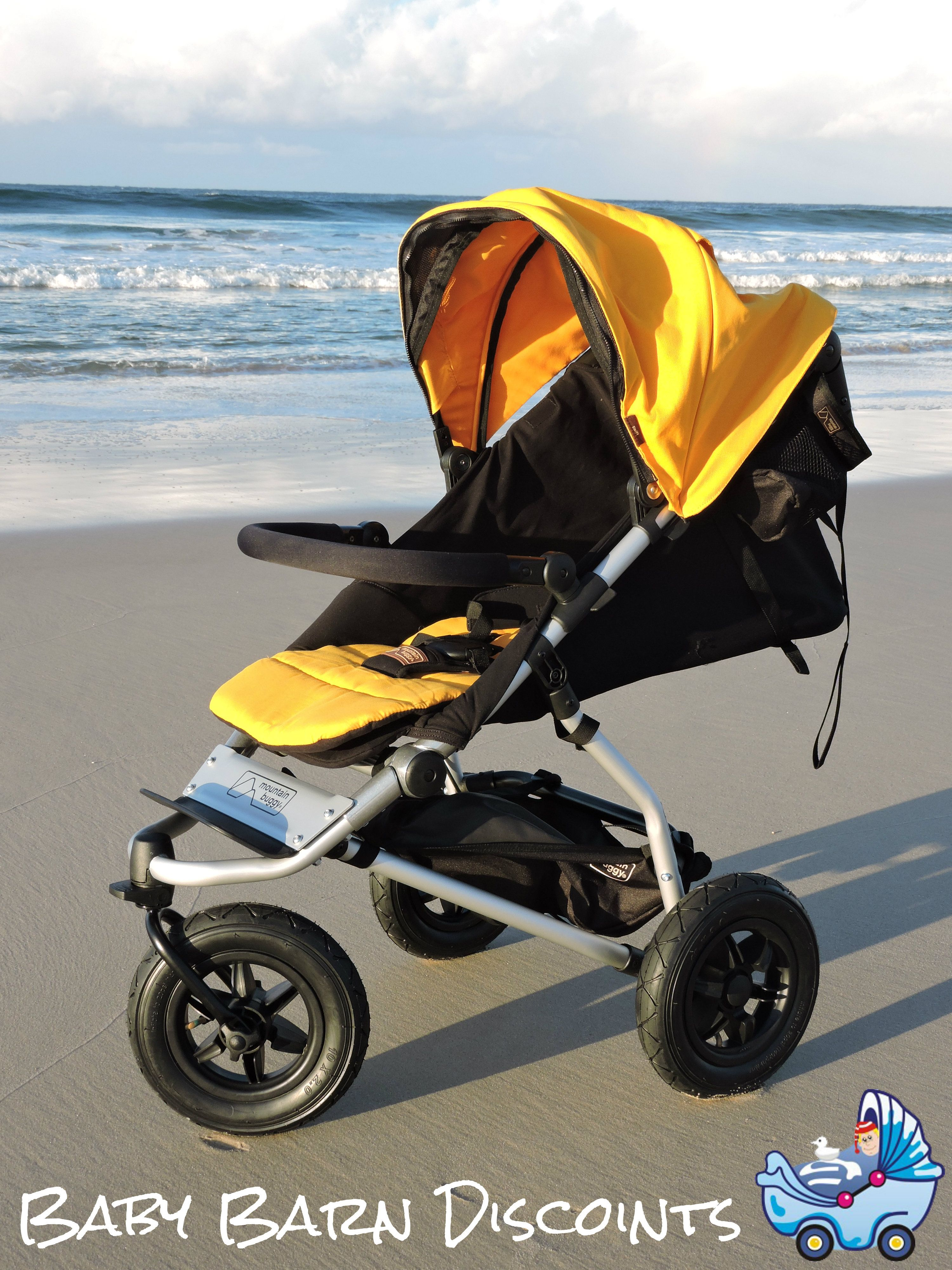Mountain Buggy Zum Joggen Mountain Buggy Swift Gold Compact Size Superior One Hand