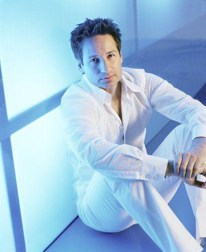 X-Files TV Guide shoot