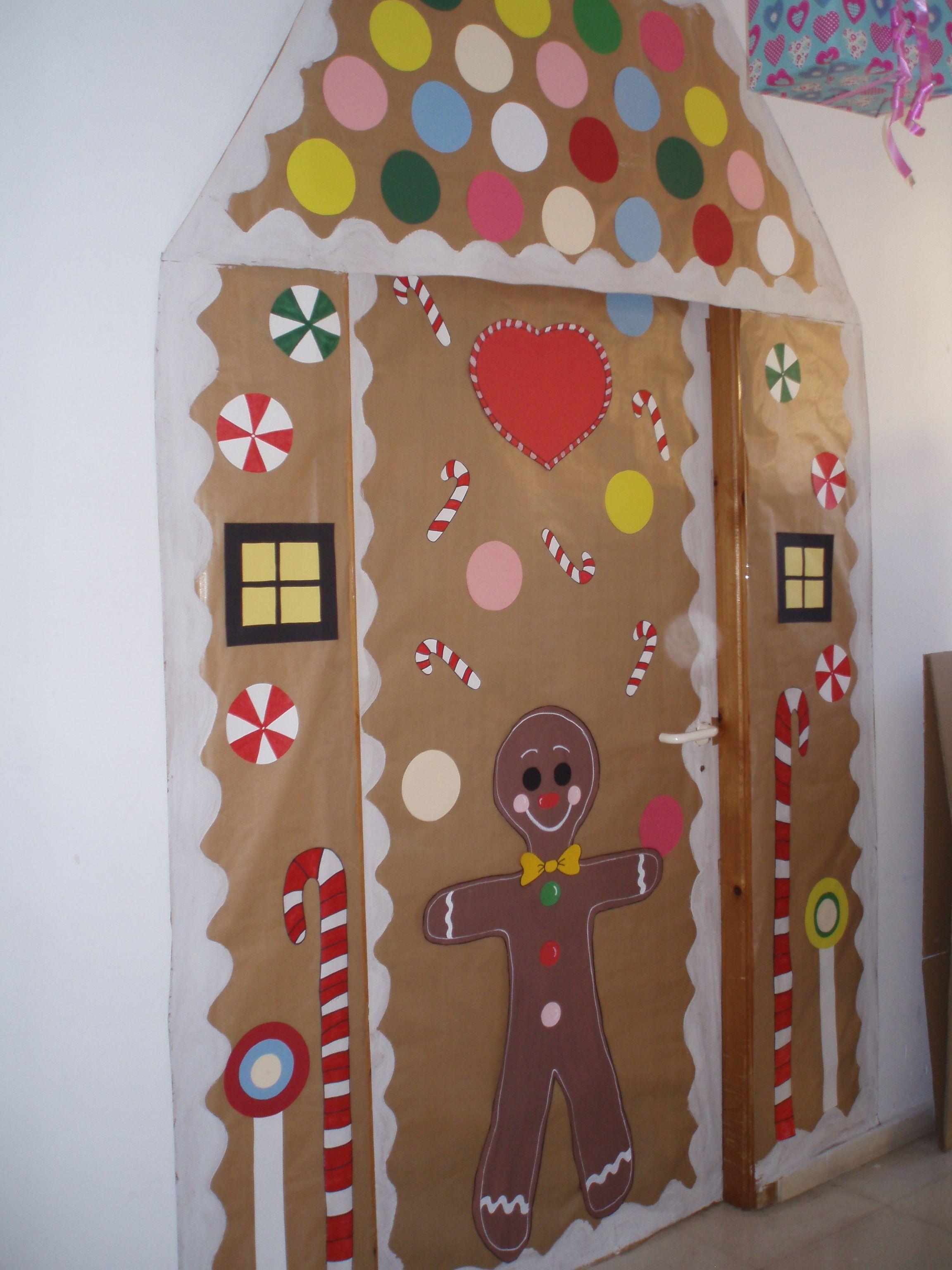 puerta de mi despacho navidad mis creaciones puerta On puertas decoradas de navidad para preescolar