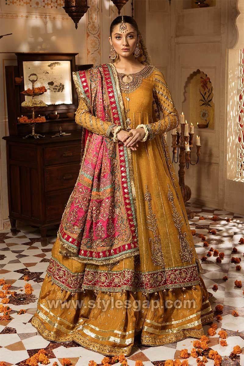 Maria B Latest Pakistani Formal Wedding Dresses Collection 20 ...