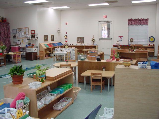Minimalist Preschool Classroom ~ Montessori school rooms google search ideas