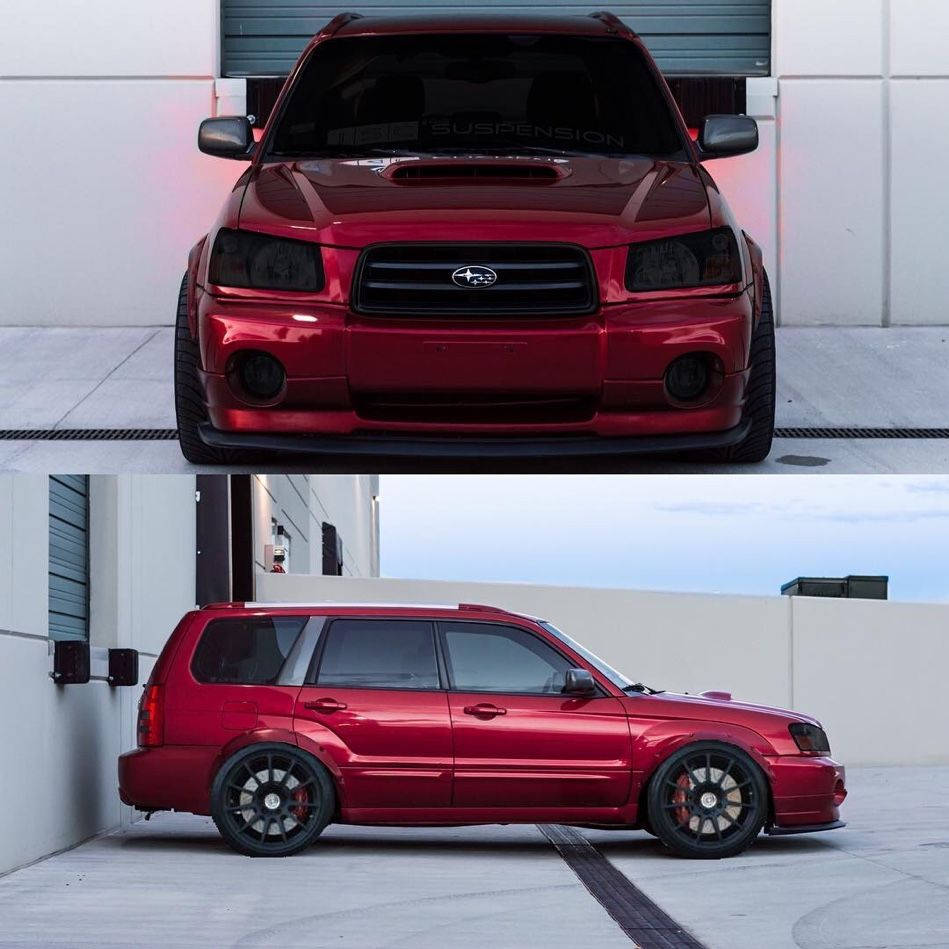 3 The Headlights But They Are Already A Little Dim So I M Not Sure I D Like Them In Reality Sweet Look Thoug Subaru Wagon Subaru Forester Xt Subaru Forester