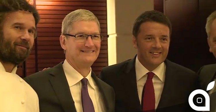 Oggi Tim Cook incontrerà il papa Francesco ed il Primo Ministro Renzi