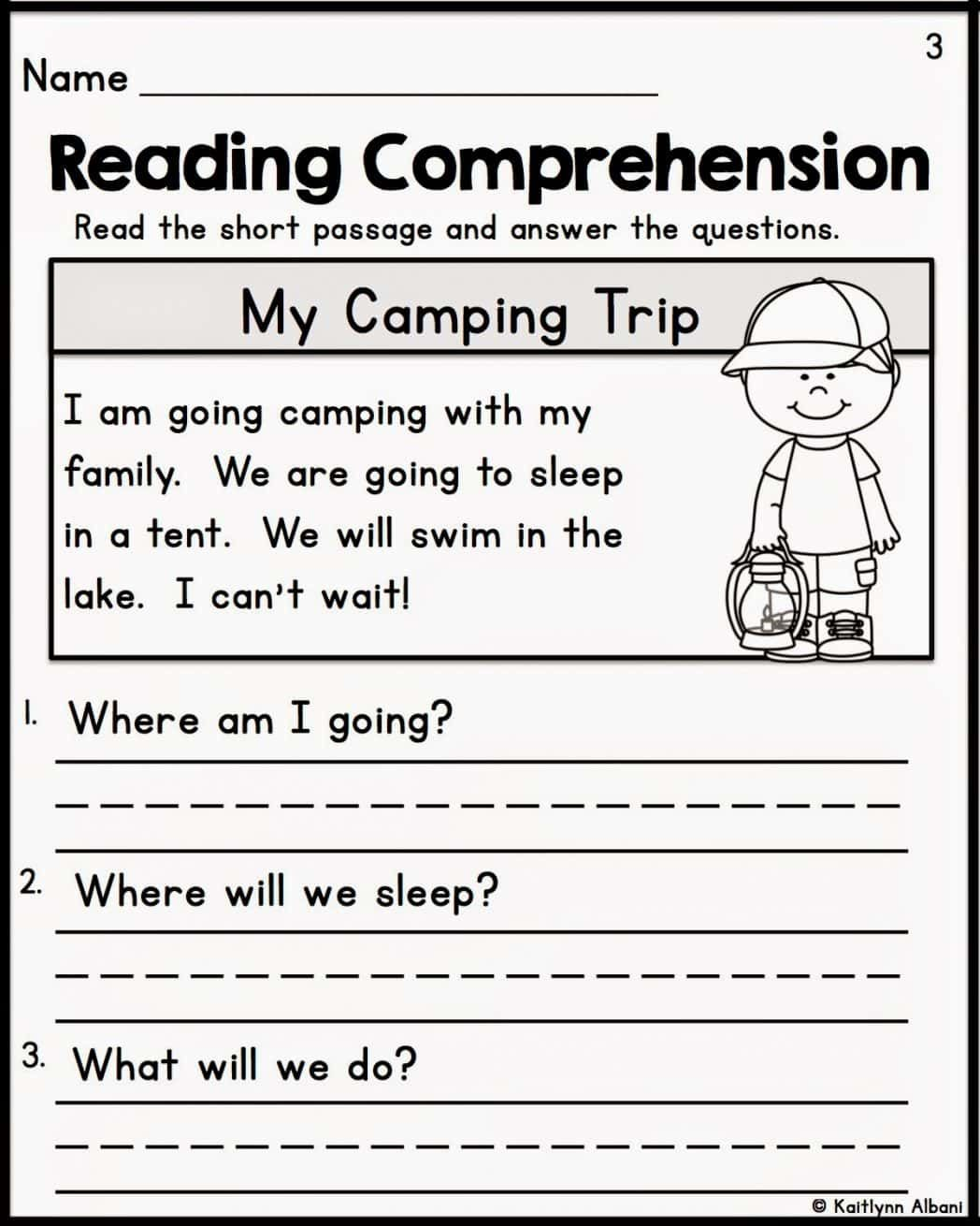 - Comprehension Worksheets For Grade 1 Free (With Images) 2nd