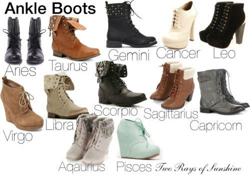 Style your feet according to your zodiac sign