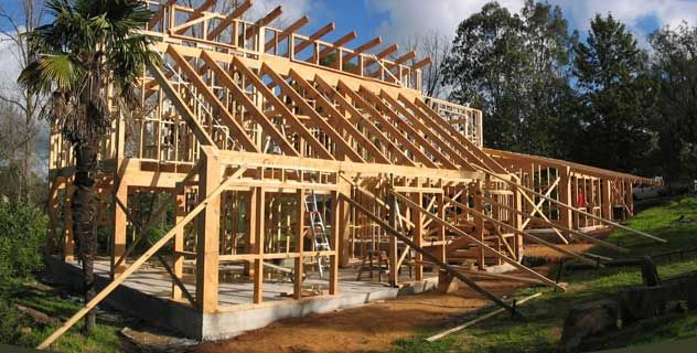 Clerestory Window Framing Architecture House Roof Construction Pole Barn Homes