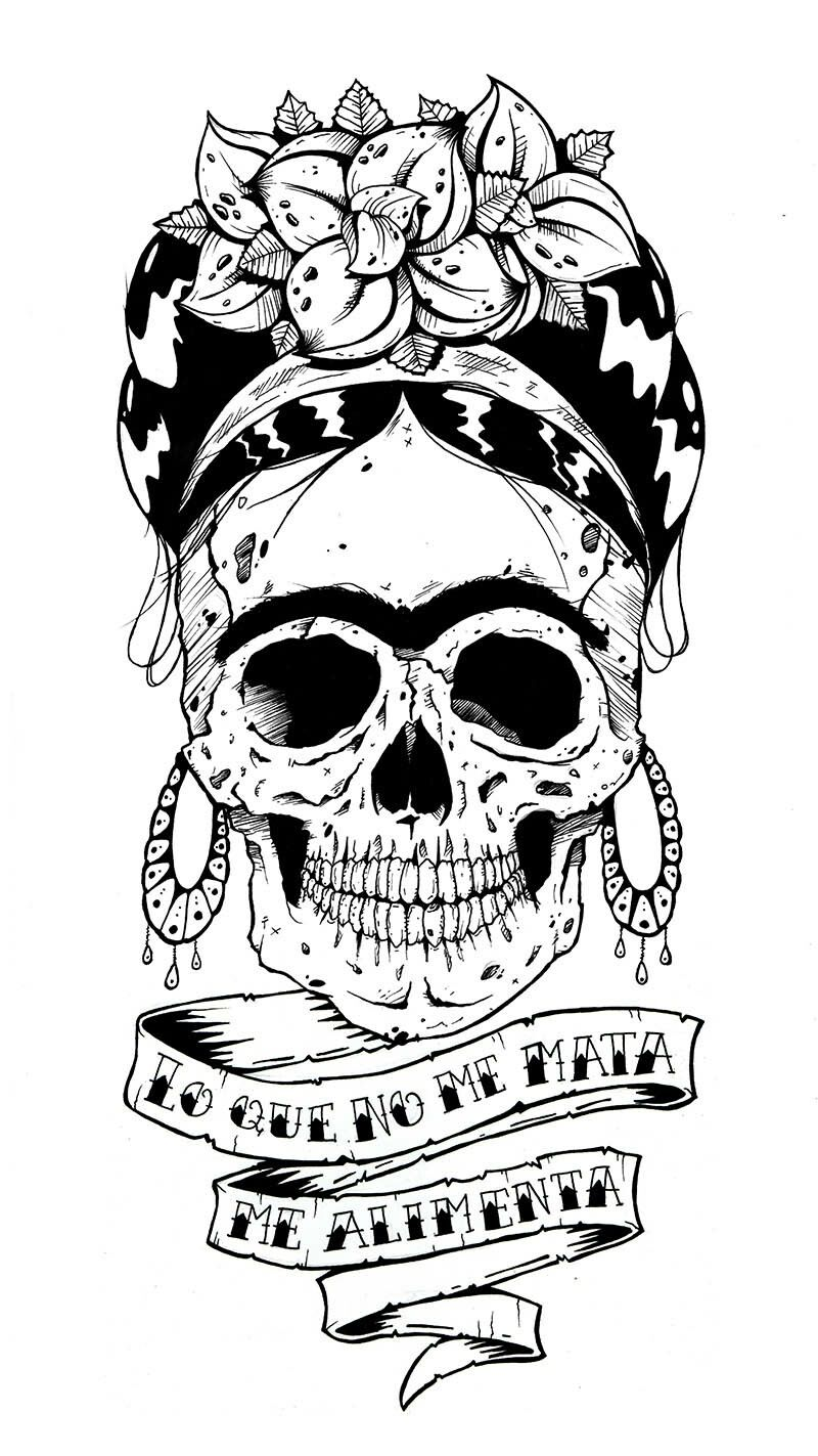 Pin De Byron Solari En Emelec Con Imagenes Frida Kahlo Dibujo