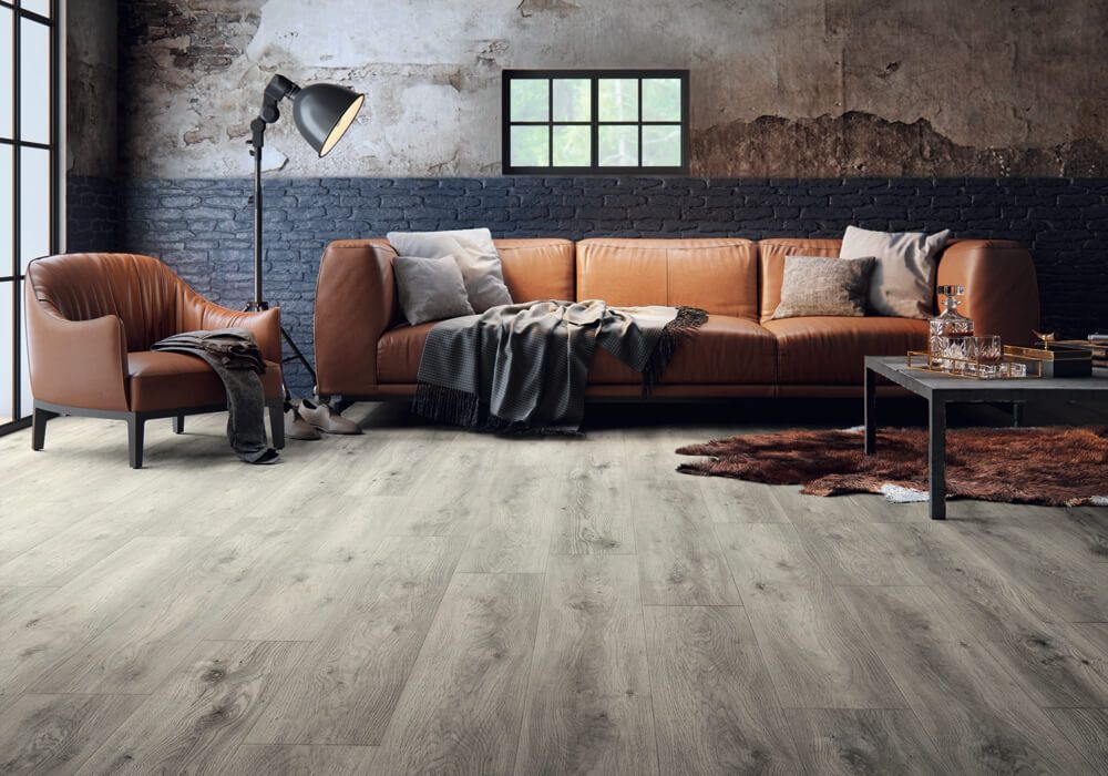 Sierra Oak 58936 Wood Effect Luxury Vinyl Flooring Moduleo