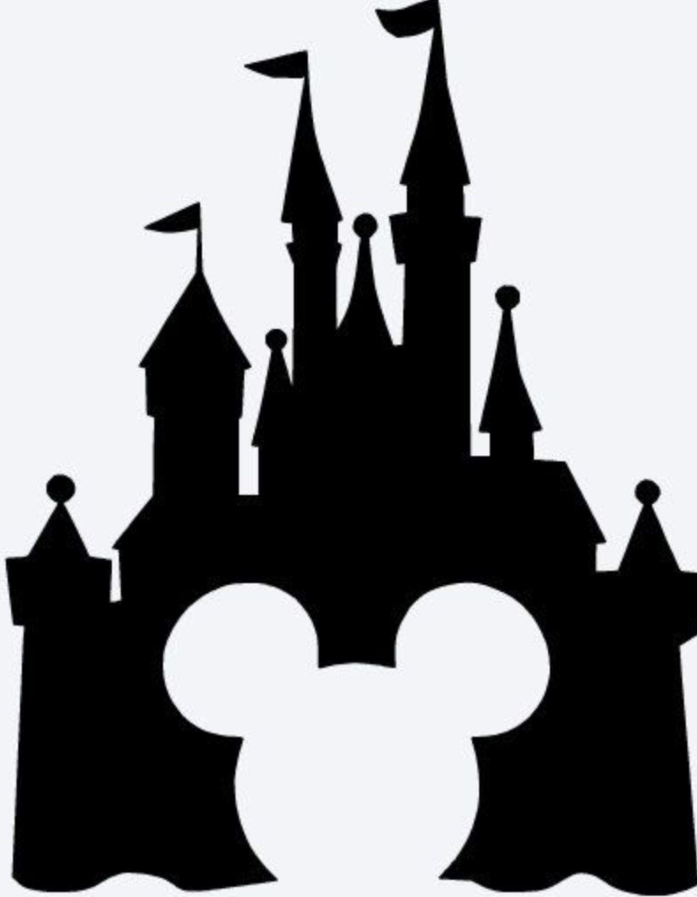 Image Result For Disney Castle Silhouette Disney Castle Silhouette Castle Silhouette Disney Castle