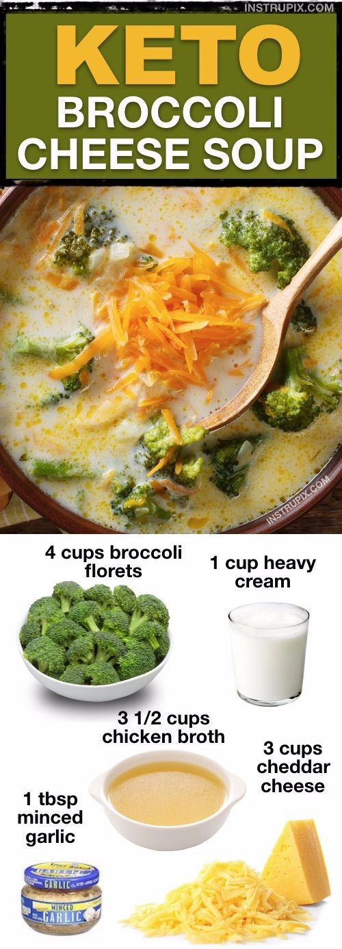 7 Super Delish Low Carb Soup Recipes ✭✭✭✭✭ (All quick and easy!)