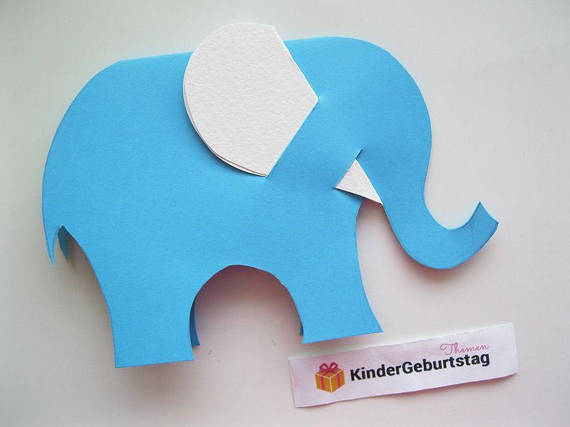 Elefant Selber Basteln Basteln Kindergarten