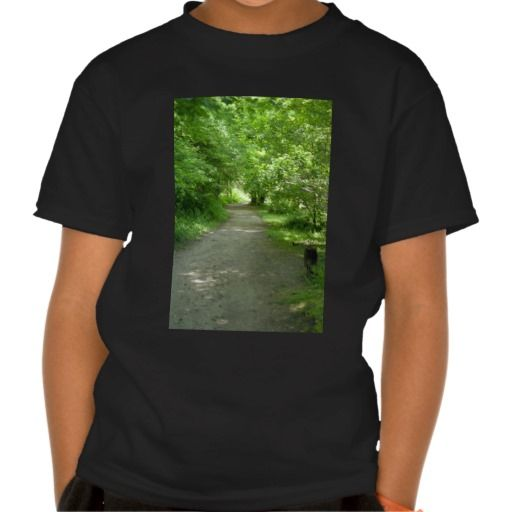 Tunnel of Leaves Kid's T-Shirt