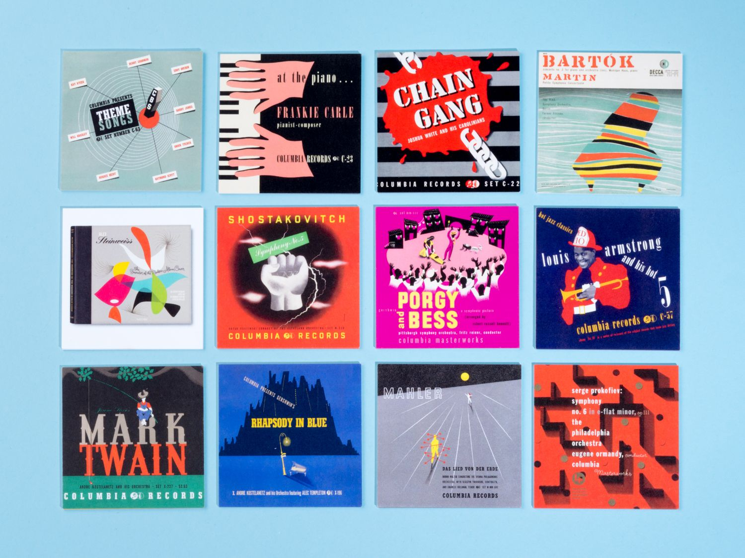 50 business cards celebrate the father of record sleeve design 50 business cards celebrate the father of record sleeve design graphic design creative bloq magicingreecefo Gallery