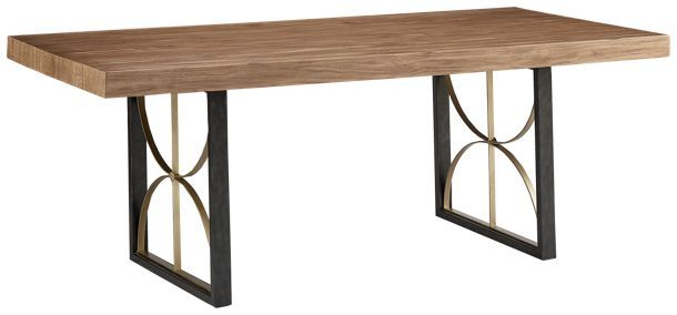 Magnolia Home Magnolia Home Magnolia Home 6 Proximity Dining Table Jordan S Furniture Solid