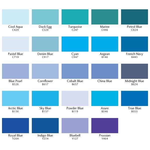 Bright blue hair dye color for light hair | Hair, Hair ... |Shades Of Bright Blue