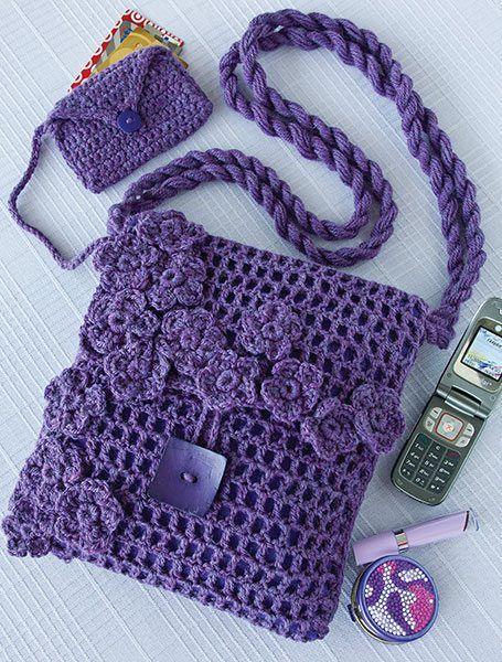 10 hermosos bolsos y bolsos de ganchillo