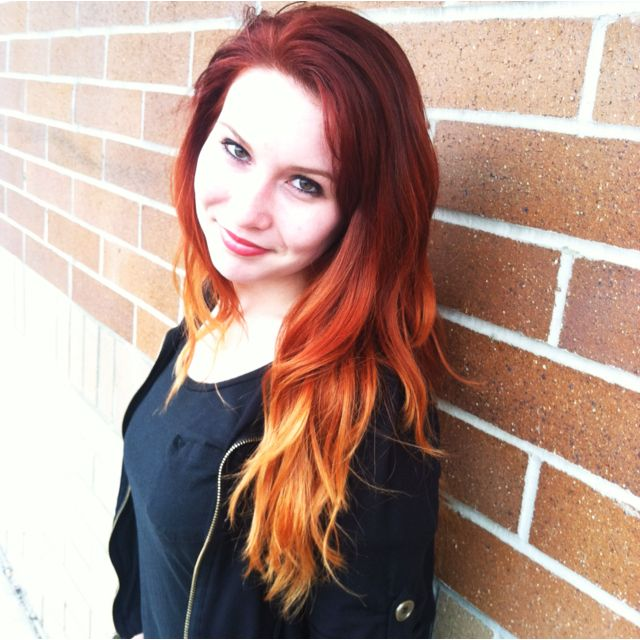 37++ Bleached orange hair to red ideas