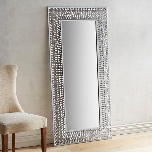 Floor Mirror, Bedroom Makeover