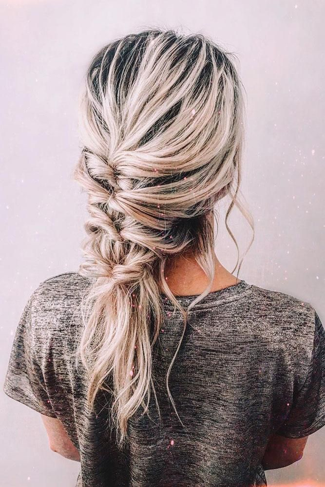 Valentine's Day Hairstyles | Wedding Forward #messybraids
