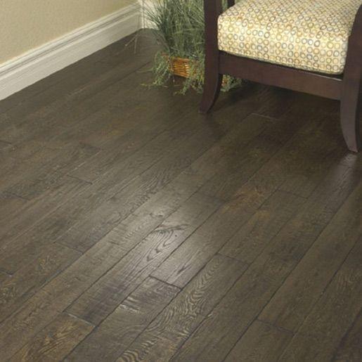 Red Oak Espresso Cafe 3 4 X 5 X 1 8 1 Common And Better Hand Distressed Prefinished Flooring Flooring Oak Hardwood Flooring Red Oak