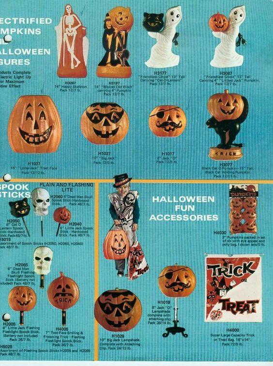 1971 General Foam Halloween Decorations Catalog Book Pinterest