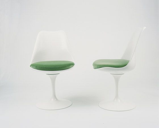 Chairs Seating Saarinen Tulip Side Chair Knoll Check It Out On Architonic Chaise Tulipe Fibre De Verre Galeries De Photos