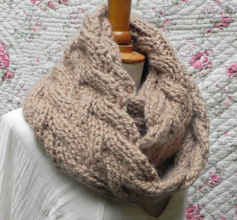 patron tricot echarpe