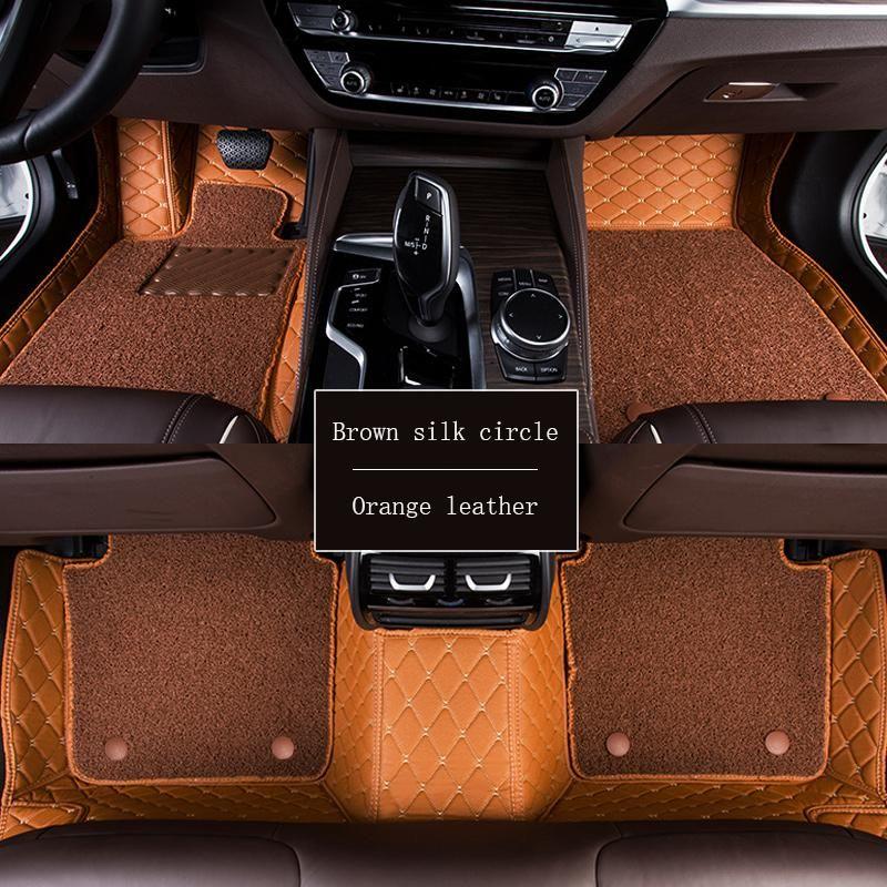 WLMWL Car Floor Mats For Audi All Models A3 8v A4 B6 B9 B8