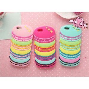 Macarons Cupcake Cake Scones Candy Muster Silikon für iphone 5 iphone 6 und iphone 6 plus