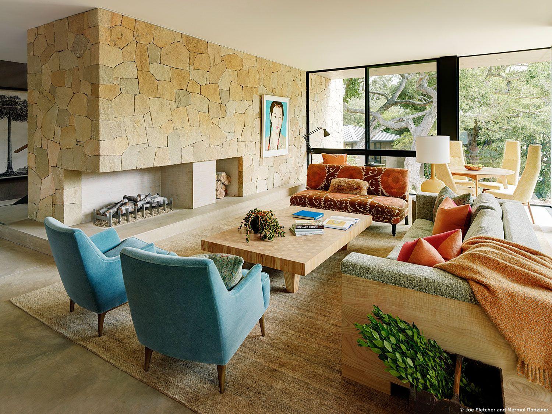 10 Beautiful Living Room Design by Marmol Radziner   Decor ...