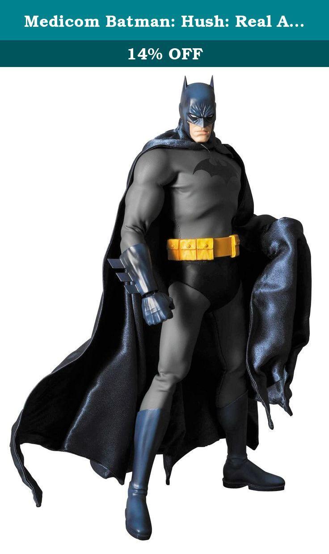 Medicom Batman Hush Real Action Heroes Batman Action Figure Based On The Bestselling Comic Book Series Batman Hus Batman Action Figures Batman Hush Batman